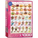 Ice Cream Flavours 1000 Piece Puzzle Jigsaw Puzzle