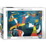 Swallow Love by Joan Miró 1000 Piece Puzzle Jigsaw Puzzle