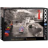 San Antonio River Walk 1000 Piece Puzzle Jigsaw Puzzle
