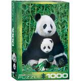Panda & Baby 1000 Piece Puzzle Jigsaw Puzzle