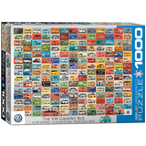 The VW Groovy Bus 1000 Piece Puzzle Jigsaw Puzzle
