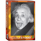 Einstein Tongue 1000 Piece Puzzle Jigsaw Puzzle