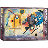 Yellow Red Blue by Wassily Kandinsky 1000 Piece Puzzle Jigsaw Puzzle