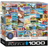Globetrotter Beach 1000 Piece Puzzle Jigsaw Puzzle