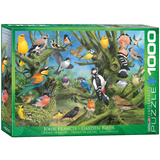 Garden Birds by Joahn Francis 1000 Piece Puzzle Jigsaw Puzzle