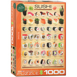 Sushi 1000 Piece Puzzle Jigsaw Puzzle