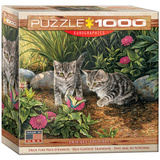 Double Trouble by Rosemary Millette 1000 Piece Puzzle Jigsaw Puzzle