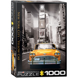 New York City Yellow Cab 1000 Piece Puzzle Jigsaw Puzzle