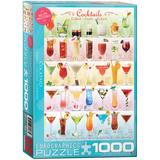 Cocktails 1000 Piece Puzzle Jigsaw Puzzle