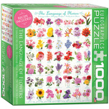 The Language of Flowers 1000 Piece Puzzle Jigsaw Puzzle