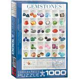 Gemstones 1000 Piece Puzzle Jigsaw Puzzle