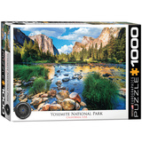 Yosemite National Park California 1000 Piece Puzzle Jigsaw Puzzle