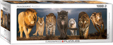 Big Cats 1000 Piece Puzzle Jigsaw Puzzle