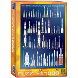 International Space Rockets 1000 Piece Puzzle Jigsaw Puzzle