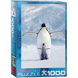 Penguin & Chick 1000 Piece Puzzle Jigsaw Puzzle