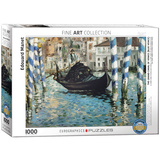 The Grand Canal of Venice (Blue Venice) by Edouard Manet 1000 Piece Puzzle Jigsaw Puzzle