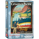 Banff in the Canadian Rockies by James Crockart 1000 Piece Puzzle Jigsaw Puzzle