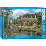 Cobble Walk Cottage by Dominic Davison 1000 Piece Puzzle Jigsaw Puzzle