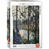 Study for Northern River by Tom Thomson 1000 Piece Puzzle Jigsaw Puzzle