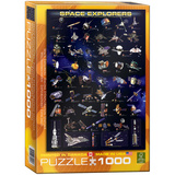 Space Explorers 1000 Piece Puzzle Jigsaw Puzzle