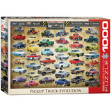 Pickup Truck Evolution 1000 Piece Puzzle Jigsaw Puzzle