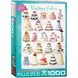 Wedding Cakes 1000 Piece Puzzle Jigsaw Puzzle