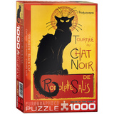 Black Cat by T.A. Steinlen 1000 Piece Puzzle Jigsaw Puzzle
