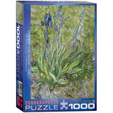 Iris by Vincent van Gogh 1000 Piece Puzzle Jigsaw Puzzle