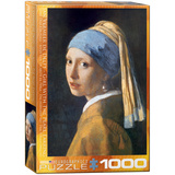 Girl with the Pearl Earring by Jan Vermeer de Delft 1000 Piece Puzzle Jigsaw Puzzle