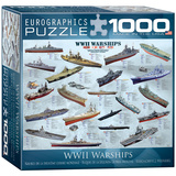 WWII War Ships 1000 Piece Puzzle Jigsaw Puzzle