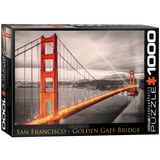 San Francisco Golden Gate Bridge 1000 Piece Puzzle Jigsaw Puzzle