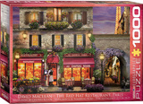 The Red Hat Restaurant Paris by David Mc Lean 1000 Piece Puzzle Jigsaw Puzzle