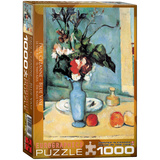 Blue Vase by Paul Cezanne 1000 Piece Puzzle Jigsaw Puzzle