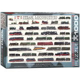 Steam Locomotives 1000 Piece Puzzle Jigsaw Puzzle
