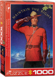 RCMP Maintain the Right 1000 Piece Puzzle Jigsaw Puzzle