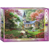 Blooming Garden by Dominic Davison 1000 Piece Puzzle Jigsaw Puzzle