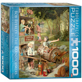 The Barnstormers by Bob Byerley 1000 Piece Puzzle Jigsaw Puzzle
