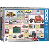 The VW Beetle 1000 Piece Puzzle Jigsaw Puzzle