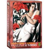 Portrait of Ira by Tamara de Lempicka 1000 Piece Puzzle Jigsaw Puzzle