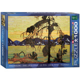 The Jack Pine by Tom Thomson 1000 Piece Puzzle Jigsaw Puzzle
