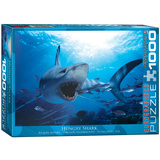Hungry Shark 1000 Piece Puzzle Jigsaw Puzzle