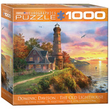 The Old Lighthouse by Dominic Davison 1000 Piece Puzzle Jigsaw Puzzle