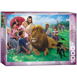 The Lion and the Lamb by Nathan Greene 1000 Piece Puzzle Jigsaw Puzzle