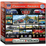 American Cars of the 1930s 1000 Piece Puzzle Jigsaw Puzzle