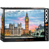 London Big Ben 1000 Piece Puzzle Jigsaw Puzzle