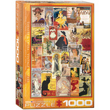 Theater & Opera Vintage Posters 1000 Piece Puzzle Jigsaw Puzzle