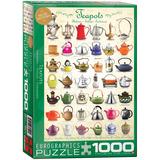 Teapots 1000 Piece Puzzle Jigsaw Puzzle