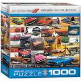 Dodge Advertising Collection 1000 Piece Puzzle Jigsaw Puzzle