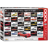 Corvette Evolution 1000 Piece Puzzle Jigsaw Puzzle