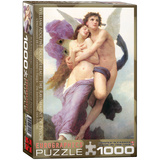 The Ravishment of Psyche by William Adolphe Bouguereau 1000 Piece Puzzle Jigsaw Puzzle
